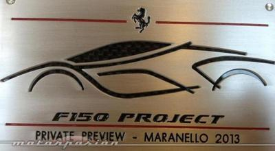 Ferrari F150 Project, private preview en Maranello