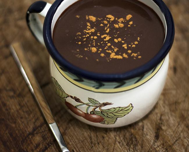 Chocolate A La Taza A La Española Receta