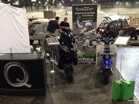Las scooter eléctricas de QuaZZar se cuelan entre las clásicas en el MULAFEST 2014