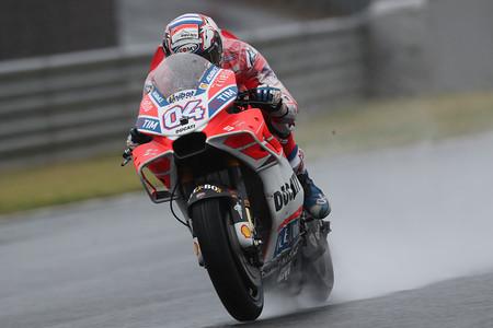"""Andrea Dovizioso: """"Estoy muy contento, hoy hemos ido rápido desde el principio con el neumático duro"""""""
