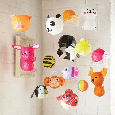 Decora una fiesta infantil con los farolillos de papel de Petra Boase