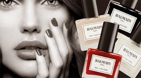 Balmain lanza su Nail Couture Collection