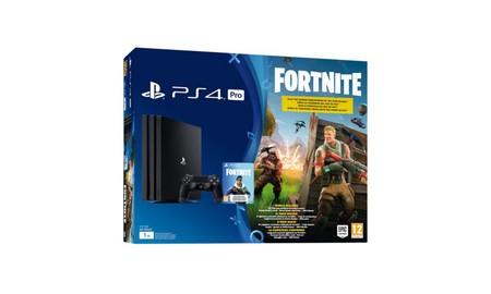 La PS4 Pro con descarga de Fortnite incluida, en Mediamarkt te sale por 389 euros esta semana