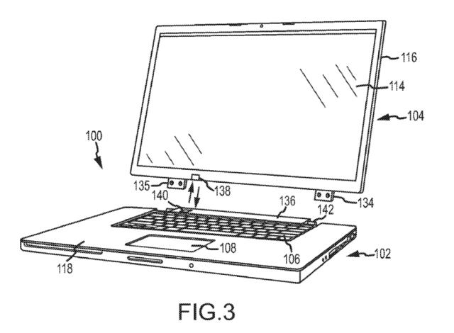 Macbook sin pantalla patente