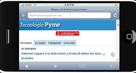 Tecnología Pyme, ahora en tu móvil
