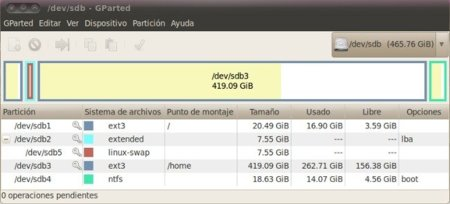 Tres alternativas para administrar particiones Linux desde Windows