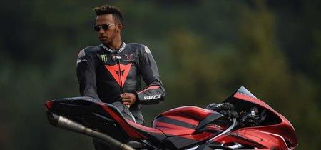 Lewis Hamilton y su última creación limitada a 44 unidades: MV Agusta F4 LH44