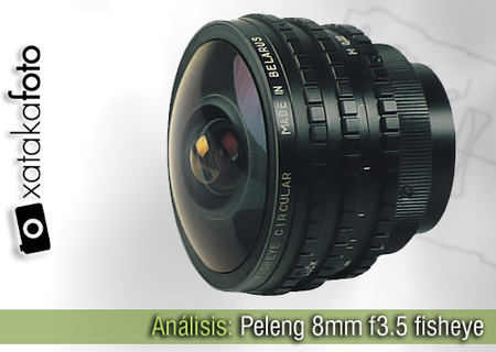 Peleng 8mm f3.5 fisheye, análisis