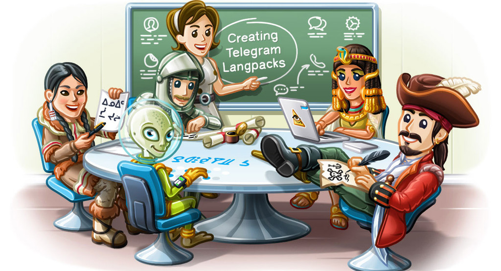 Telegram for Android reaches version 5.0 with more translations, a new design and more news