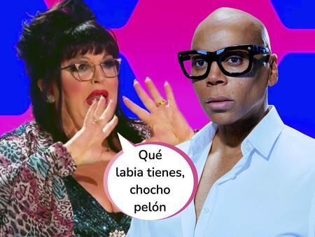 El inesperado crossover entre 'Drag Race España' y su programa original: La desternillante reacción de RuPaul al mensaje de Paca la Piraña