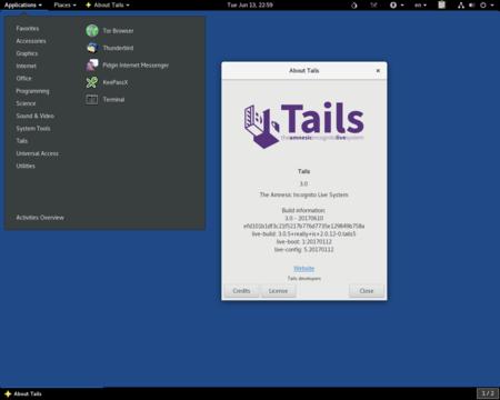 Ya está disponible Tails 3.9, la mayor actualización del año de la distro para el anonimato