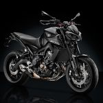 Rizoma le saca punta a la oscura Yamaha MT-09 con complementos a lo Darth Vader