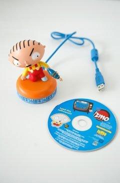 Stewie de Padre de Familia, en USB