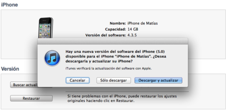 iOS 5 ya disponible en iTunes