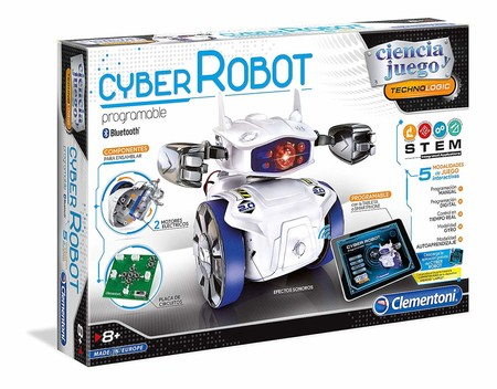 00ffd6ddb Este kit científico permite a los niños crear su propio robot con un un  módulo Bluetooth y cuatro modalidades de juego. La aplicación gratuita para  móviles ...