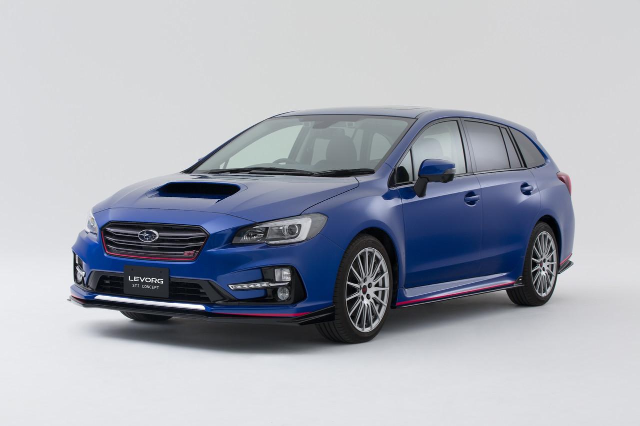 Foto de Subaru Levorg STI Concept (1/5)