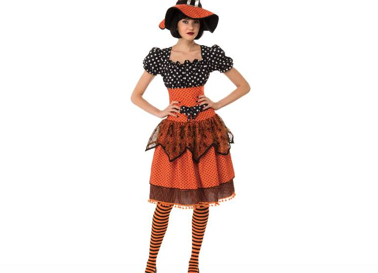 Disfraz adulto Polka Witch Rubies