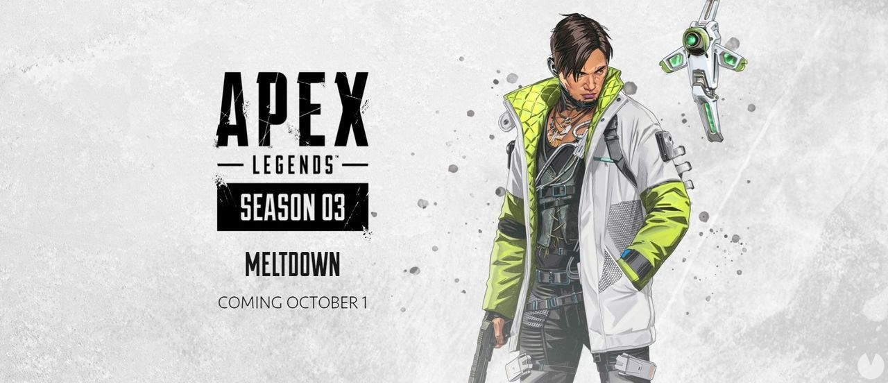 Apex Legends: se confirma Crypto como nueva leyenda para la tercera temporada. Y tenemos fecha oficial