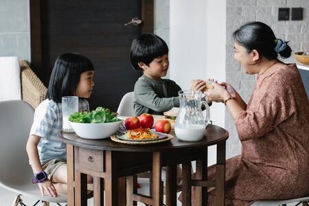 Qué porciones y alimentos debe de contener un platillo saludable para nuestros hijos