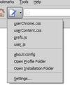Edit Config Files, extensión para Firefox que permite localizar archivos para modificar