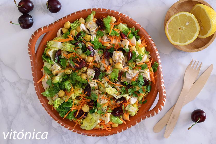 17 ensaladas con legumbres para saciarnos sumando fibra y proteínas a la dieta