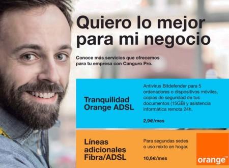 La nueva tarifa Canguro de Orange más completa, será exclusiva para empresas de momento