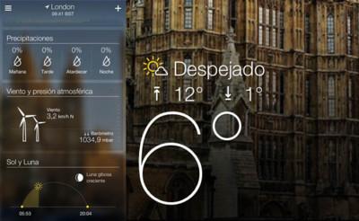 Yahoo! lanza Weather y Mail para iOS, dos aplicaciones muy a tener en cuenta