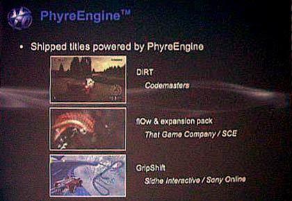 GDC 2008: Sony desvela PhyreEngine, un motor gráfico gratuito