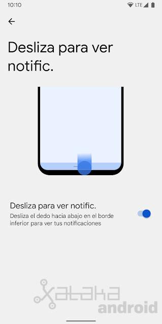 Swipe Notifications