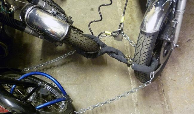Candados de motos