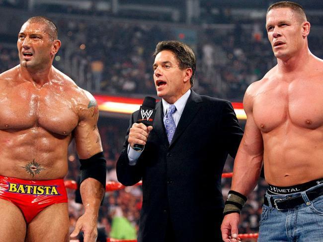 John Cena y Batista
