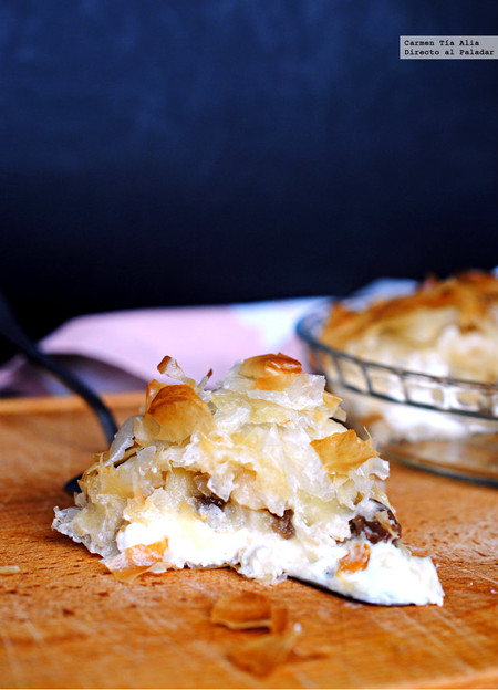 Pastel crujiente de manzana y queso: receta fácil de aprovechamiento fácil