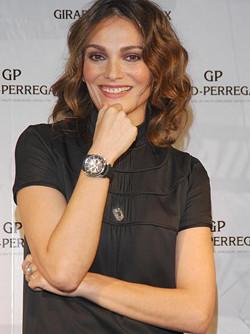 Laura Ponte imagen de Girard-Perregaux
