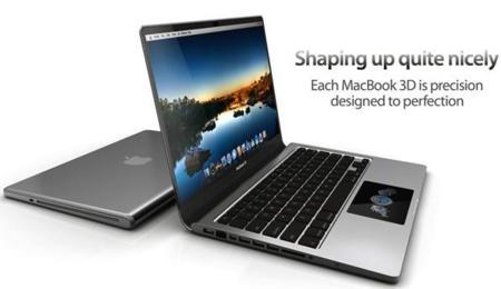 Macbook 3D, otro sueño de un diseñador