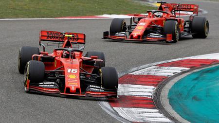 Vettel Leclerc F1 2019