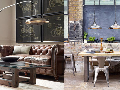 11 ideas para crear una decoración interior con estilo industrial