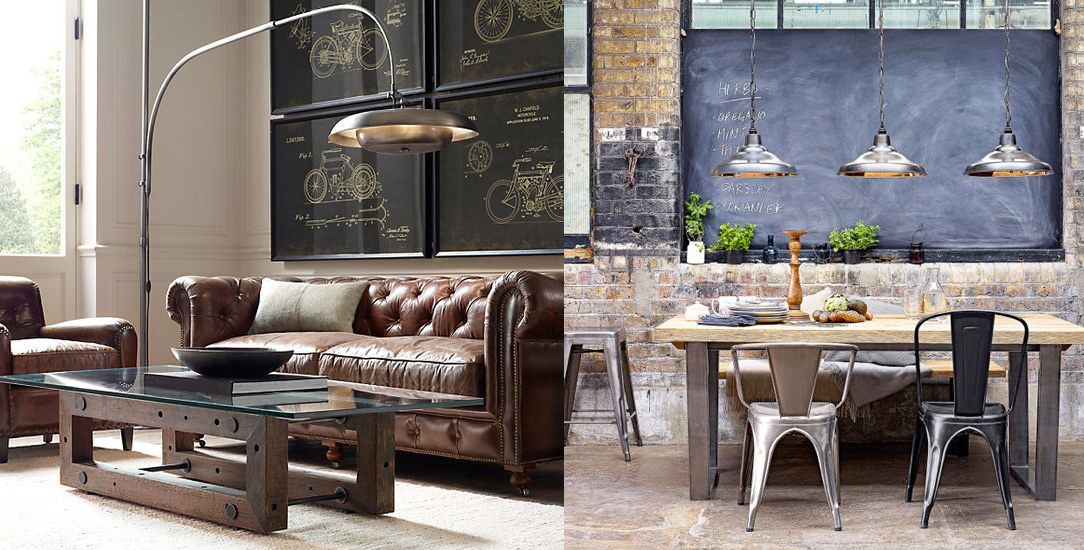 11 ideas para crear una decoraci n interior con estilo for Decoracion retro industrial