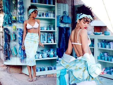 Rihanna le dice bye bye a River Island pero eso sí, antes les deja una colección de propina