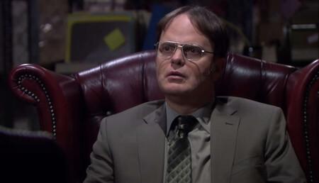 'The Office': Dwight entra en 'Matrix' en esta hilarante escena eliminada del final de la serie