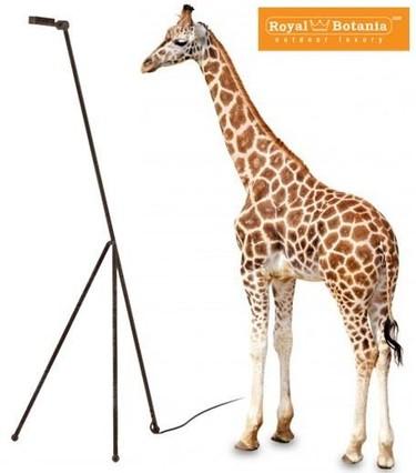 Una jirafa que ilumina de Royal Botania