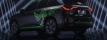 Razer NIO ES6 Night Explorer, si eres un apasionado gamer, este vehículo es para ti