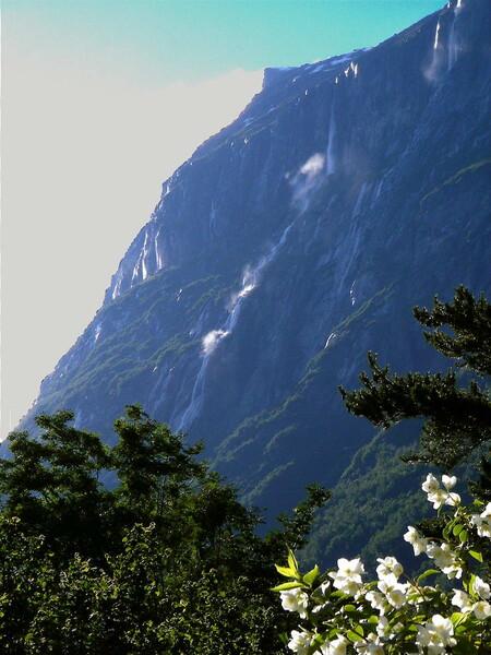 Vinnufossen Cascada más alta Europa