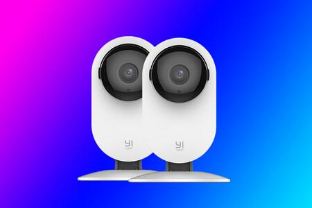 Protección 24/7 en casa con el pack de dos videocámaras domésticas YI Home Camera 1080P IA por 34,99 euros en Amazon, su mínimo