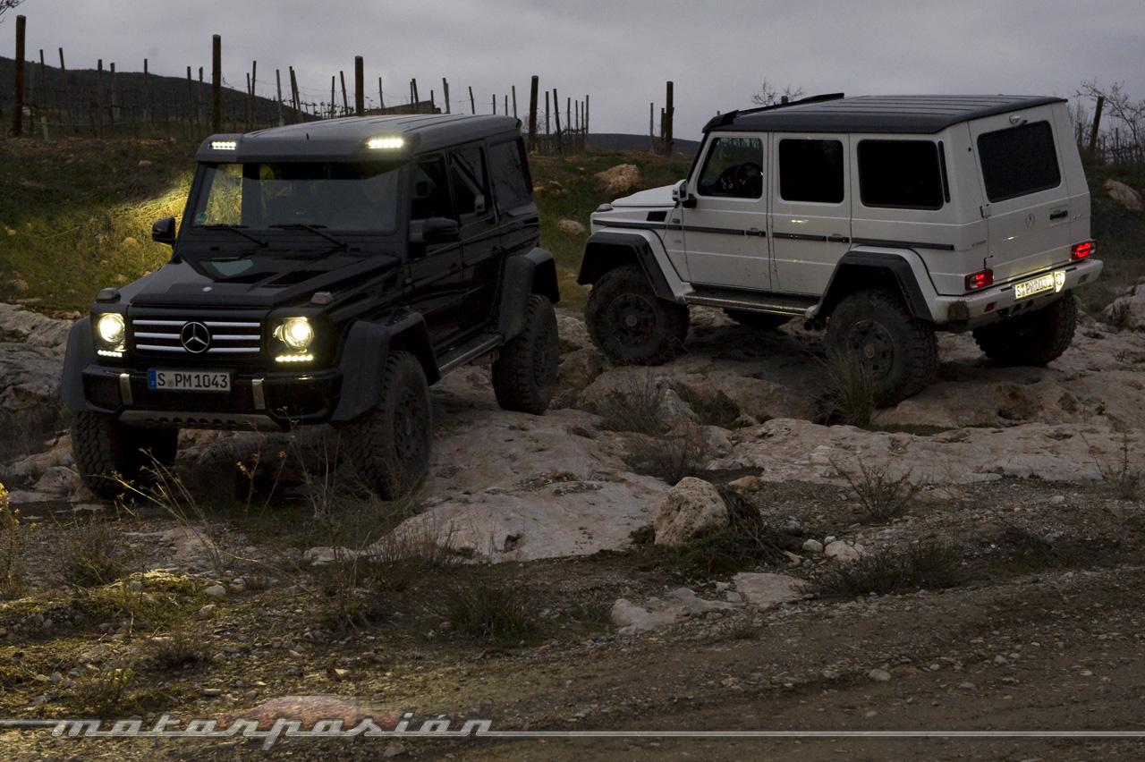 Foto de Mercedes-Benz G 500 4x4², toma de contacto (126/127)