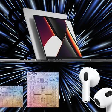Nuevos Apple MacBook Pro, AirPods 3 y más: todas las novedades de la Keynote de Apple