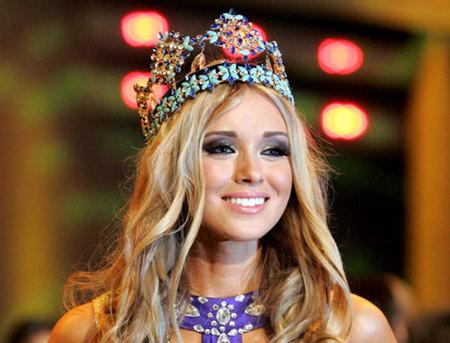 Kseniya Sukhinova, de Rusia, ha sido coronada Miss Mundo 2008