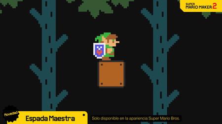 Super Mario Maker 2 añadirá esta semana a Link como personaje jugable, un modo Contrarreloj y mucho más