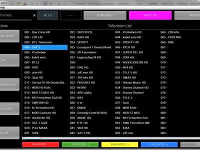 ¿Quieres editar la lista de canales de la tele en el PC? Sony lanza un software para que puedas hacerlo