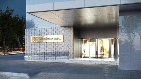 Intercontinental Barcelona Entrada Hotel