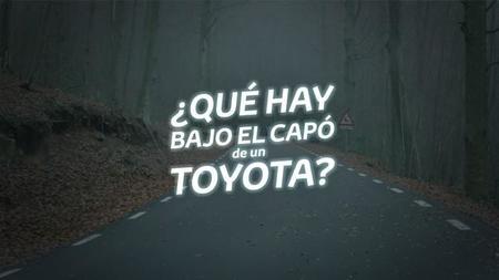 Descubre lo que esconde el capó de un Toyota con tu smartphone